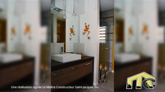 Boisé - Salle de bain rez-de-chaussé