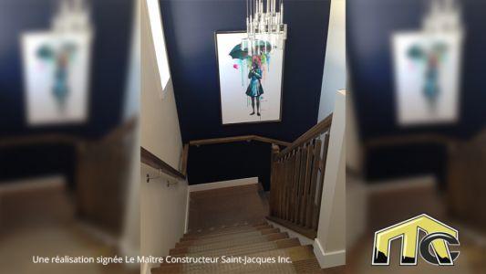 Séquoïa - Escaliers