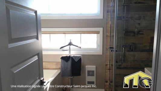 Séquoïa - Salle de bain à l'étage