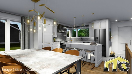 mimosa salle à manger