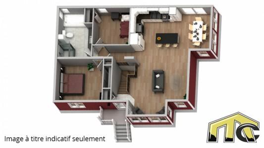 albatros classique 2 chambres plan