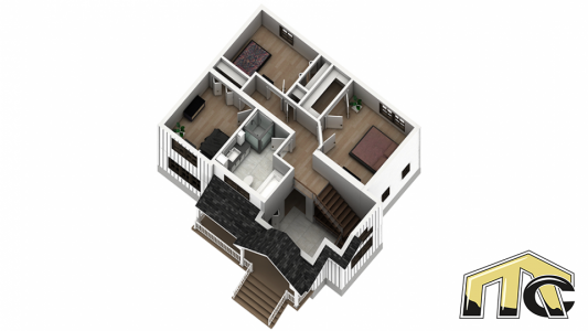 mia plan étage