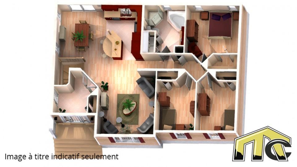 carolann 3 chambres plan