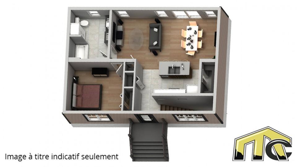 Maison 1 chambre